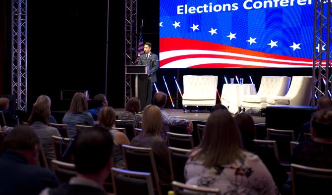 Fairchild Airmen speak at Faces of Voters event