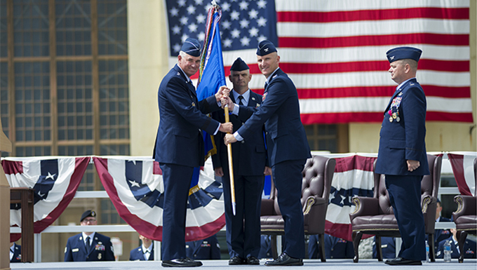 92nd ARW welcomes new commander