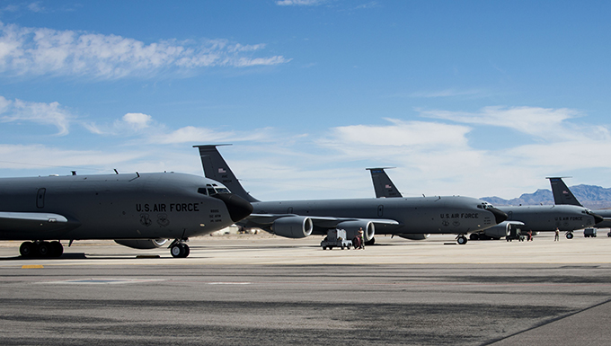 KC-135s participate in Red Flag 18-2