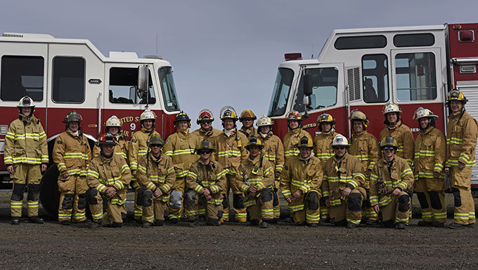 Fairchild firefighters lead training for ANG, community partners